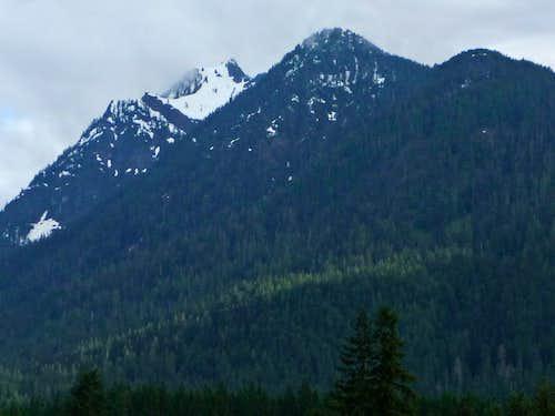Jumbo Mountain from Darrington