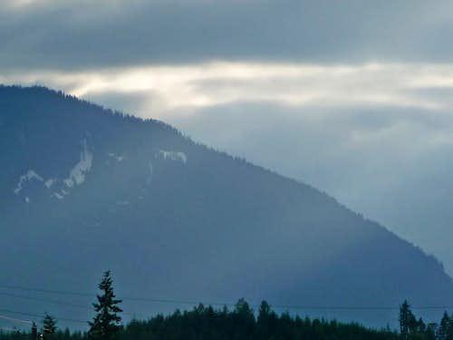Sun Lit Ridge