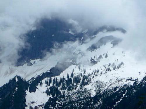 Snowy Basin below Three Fingers