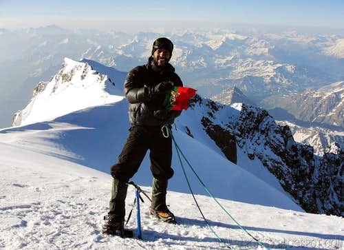 Mont Blanc summit.