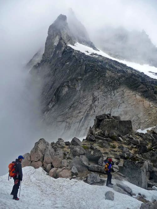 Below Dragontail Peak