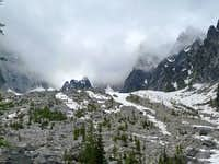 Lower Portion of Colchuck Peak