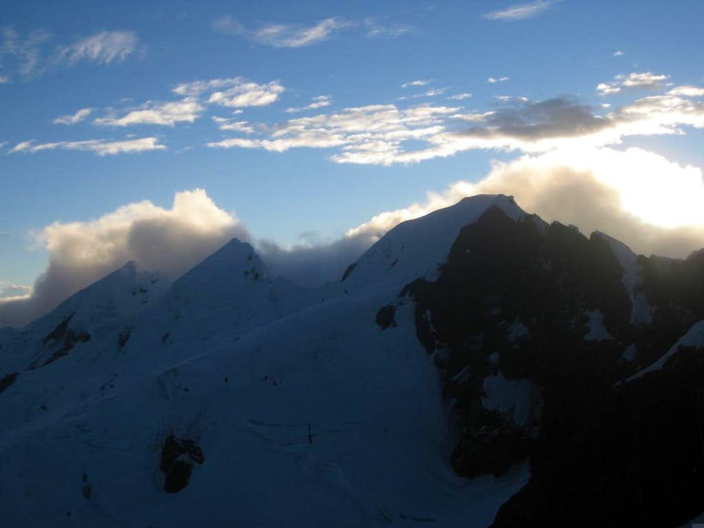 Sunrise over the Cordillera Blanca