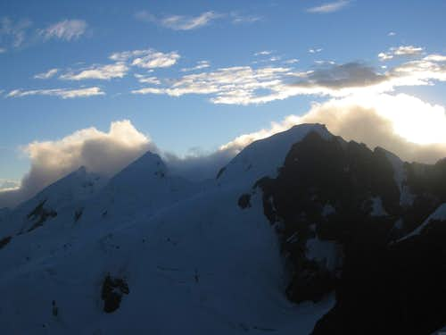Sunrise over the Cordillera Blanca