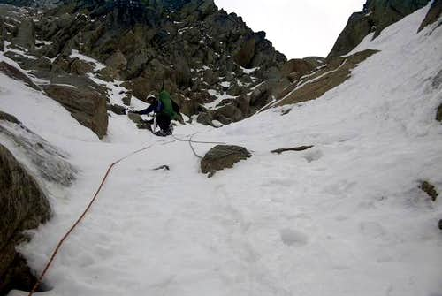 2nd pitch, North Buttress...