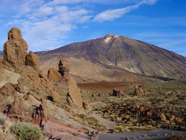 Teide and Roques de Garcia
