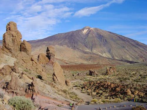 Teide and Roques de Garcia
