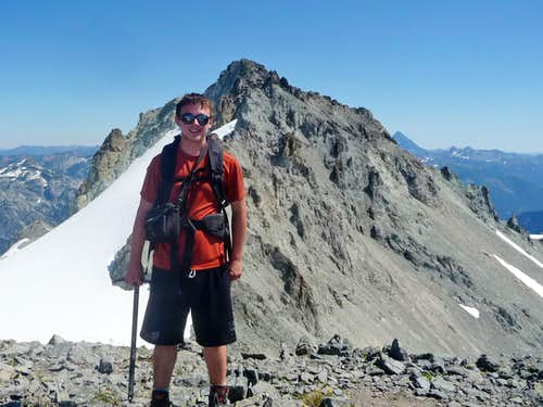 Yours Truly on the Summit of Mount Daniel