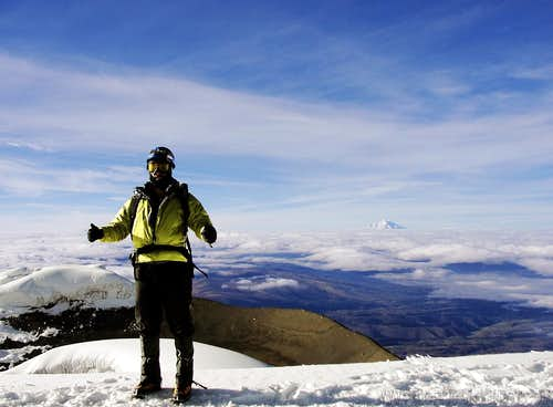 Third time is a charm - Brazilian persistence on Cotopaxi