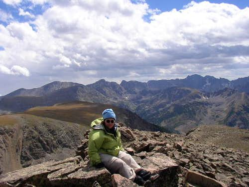 Blynn on Cooper\'s summit...