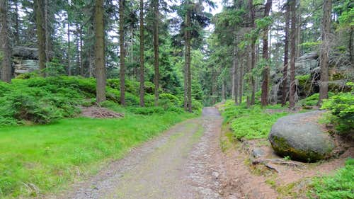 Trail of Zelený hájek