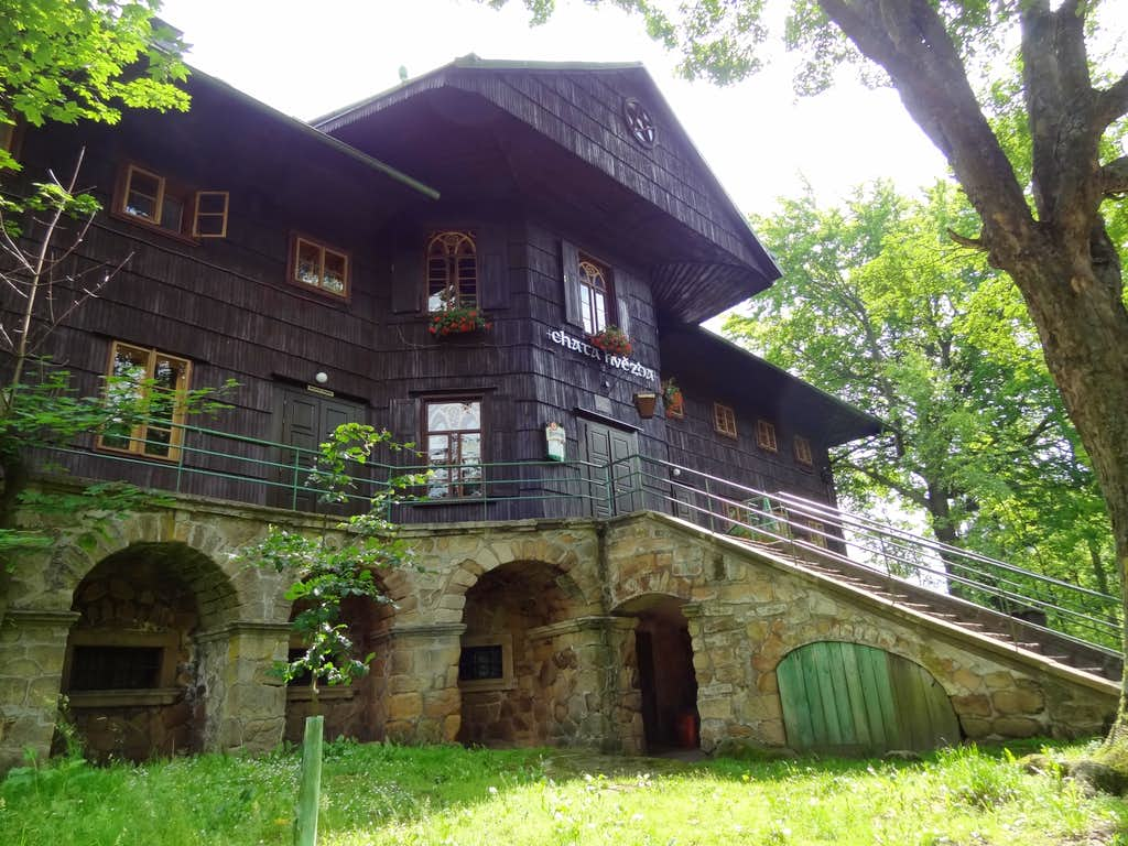 Turistická chata Hvězda