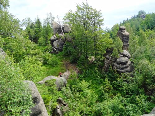Supí Hnízdo rocks