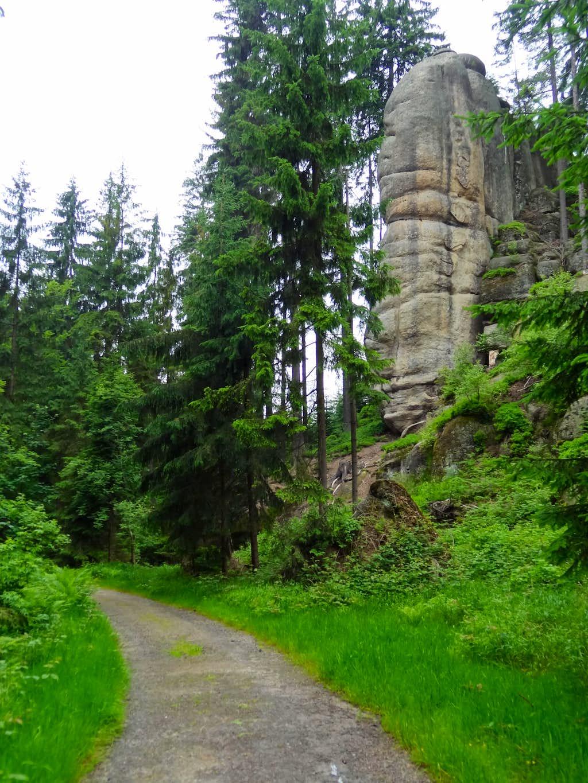 Trail to Nad Rokli