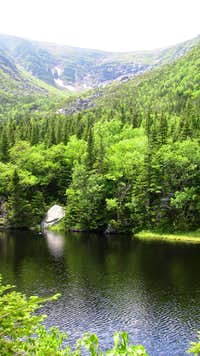 Tuckerman Ravine Lake