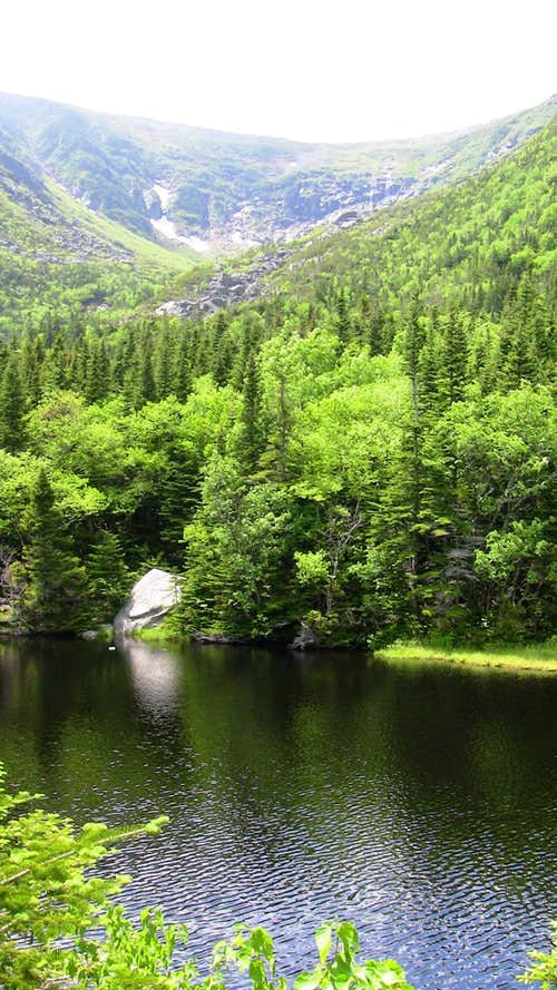 Tuckerman Ravine Lake