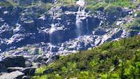 Ravine Waterfalls Distant