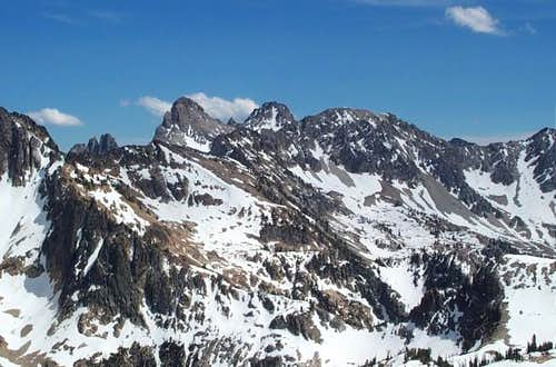 Thompson Peak and other...