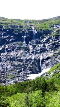 Ravine Waterfalls close
