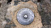 Mount Washington Summit Marker