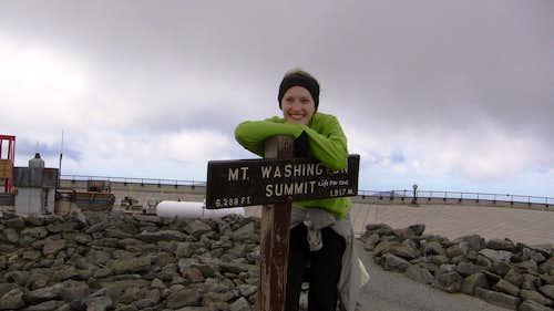 Mount Washington Summit Nikki