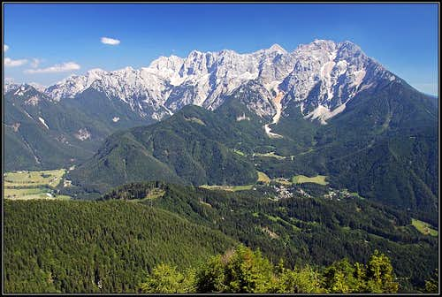 Jezersko and its mountains