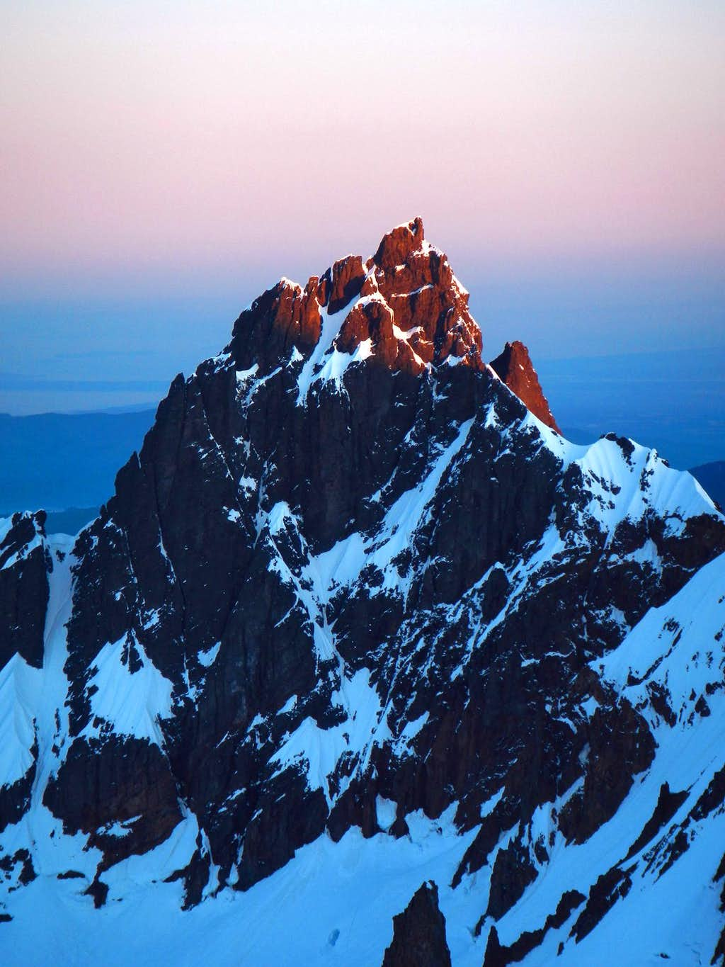 Lincoln Peak Alpenglow