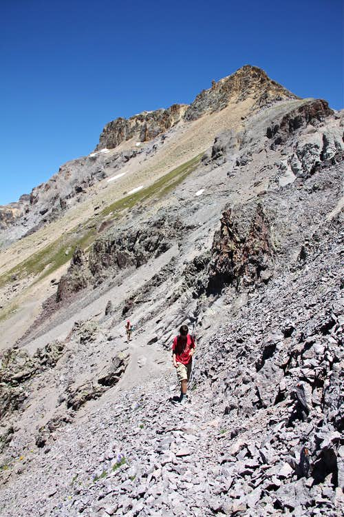Below Mendota Peak