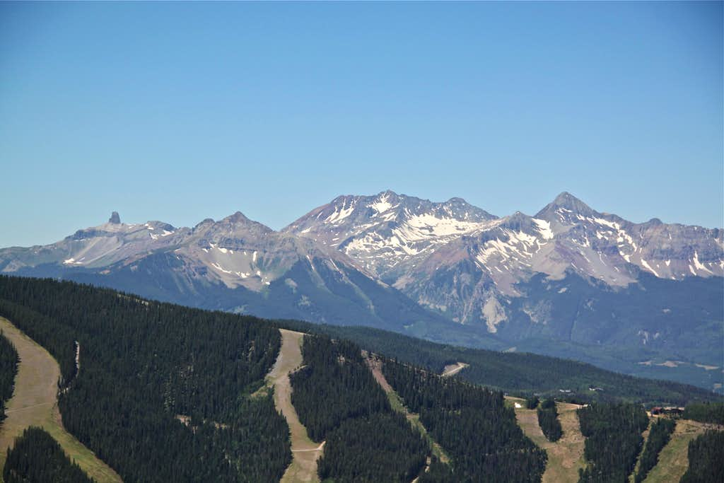 View from Sheridan Crosscut Trail