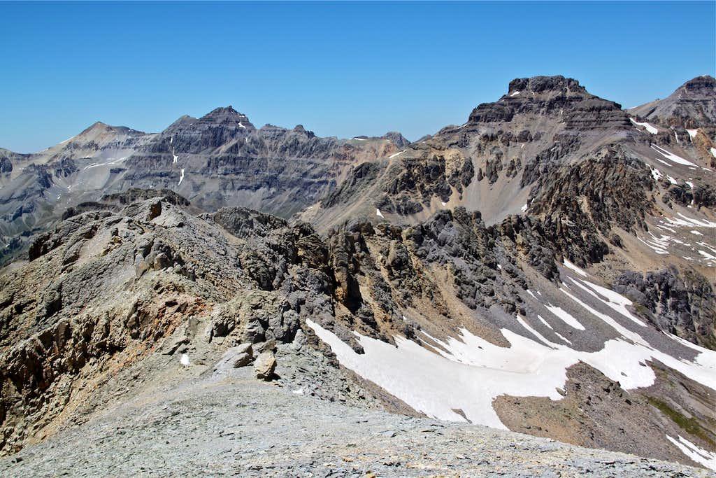 St. Sophia ridge and Mount Emma