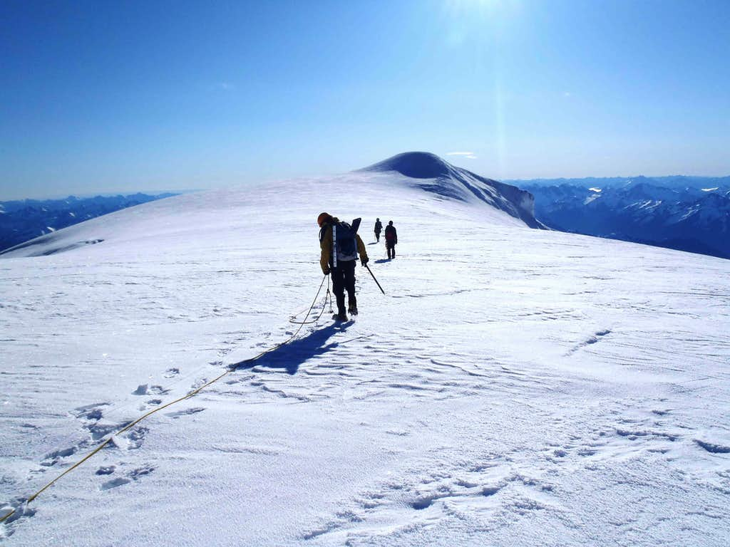 Approaching The Baker Summit