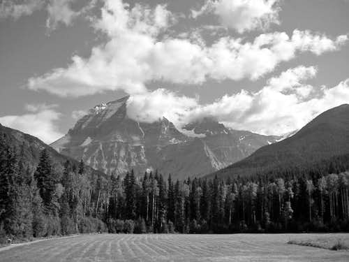 Mount Robson from the...