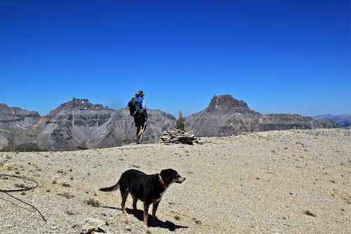 Mendota's summit ridge