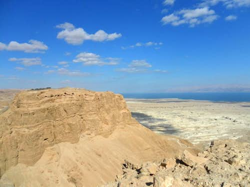 Masada. S view from Mt Eleazar