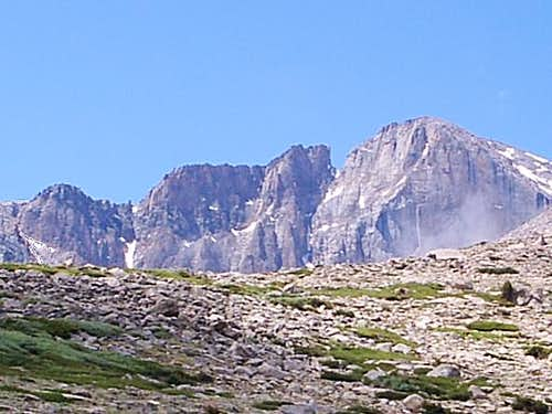 Longs Peak Closer to Chasm Junction