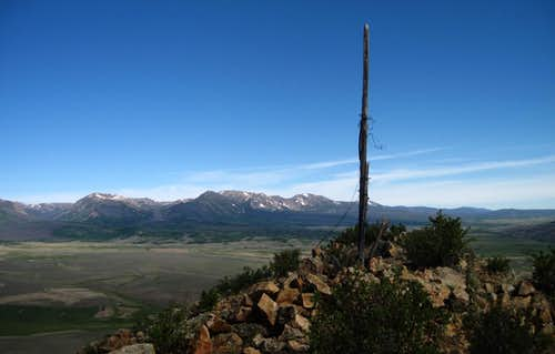 Summit of Delaney Butte