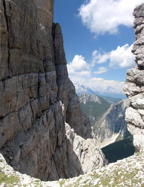 "The forcella ""Toanella"""