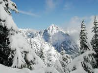 Red Mountain from Snoqualmie...