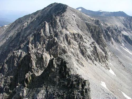 Traverse Atlantic Peak to Fletcher Peak