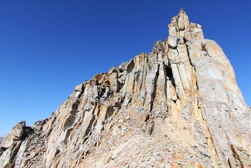 "US Grant - East Ridge - First ""crux"""