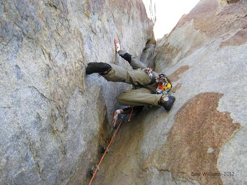 Crack of Dung, 5.10a