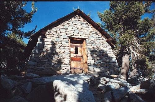 San Jacinto Hut at summit,...