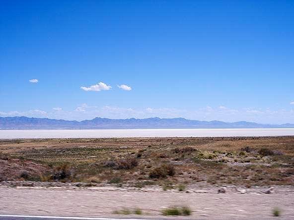 Cricket Range Behind Sevier Lake
