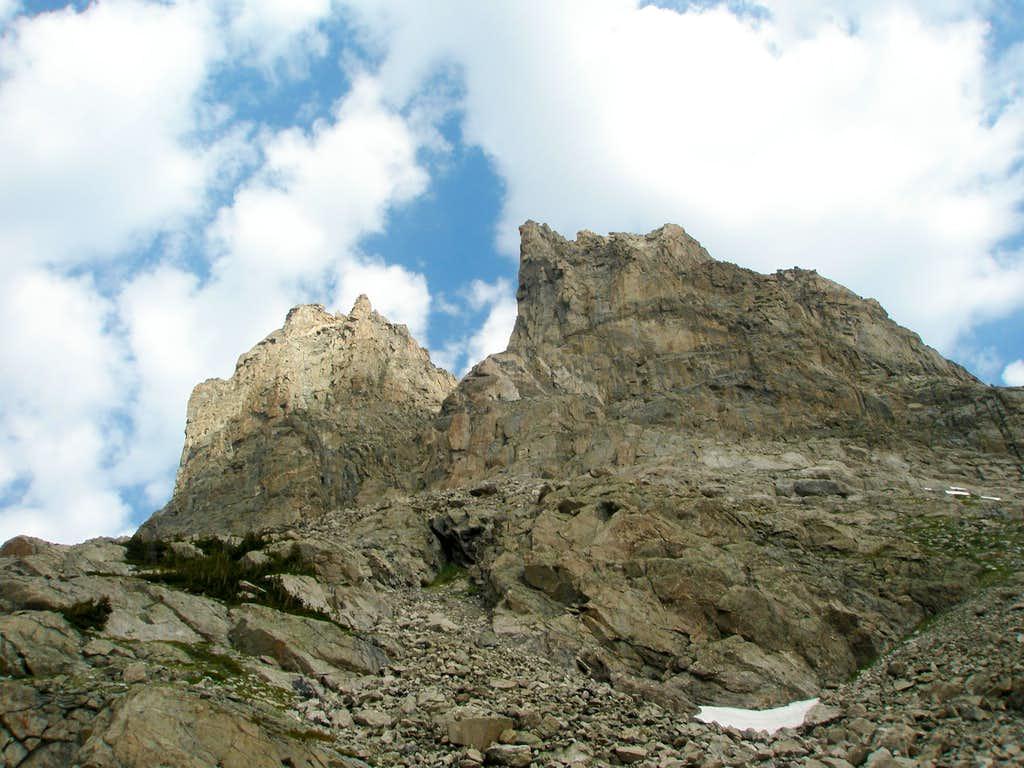 South side of Shoshoni Peak