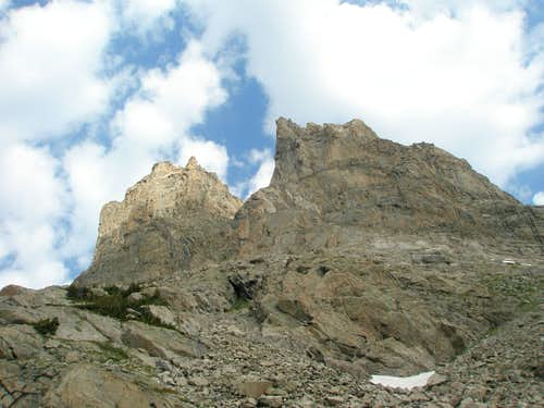 South side of Shoshoni Peak