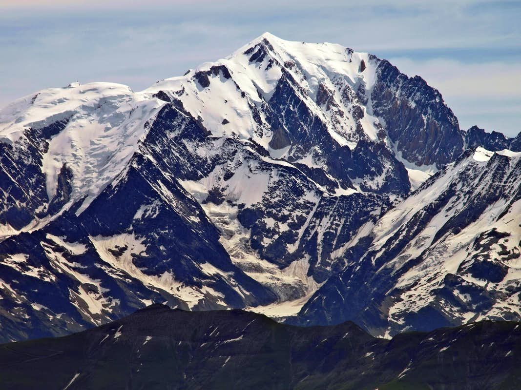 Mont Blanc from the west
