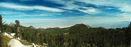 San Jacinto Panoramic View...