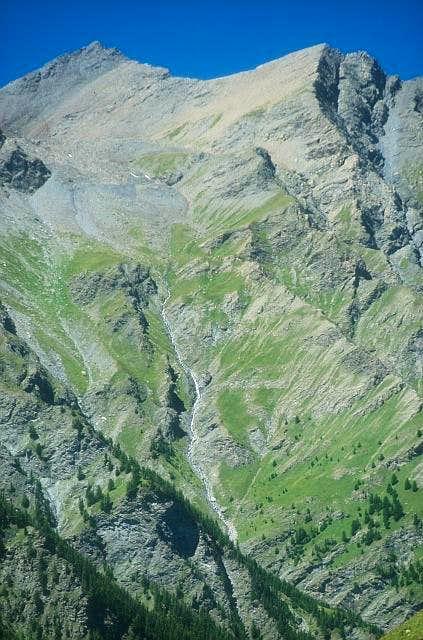 Roc del Boucher 3285m, gran...