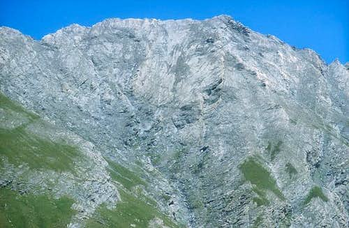 Monte Appena. south side....