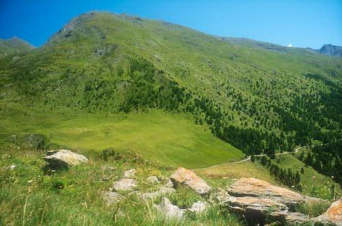 Pera Ruia 2675m. July 2002